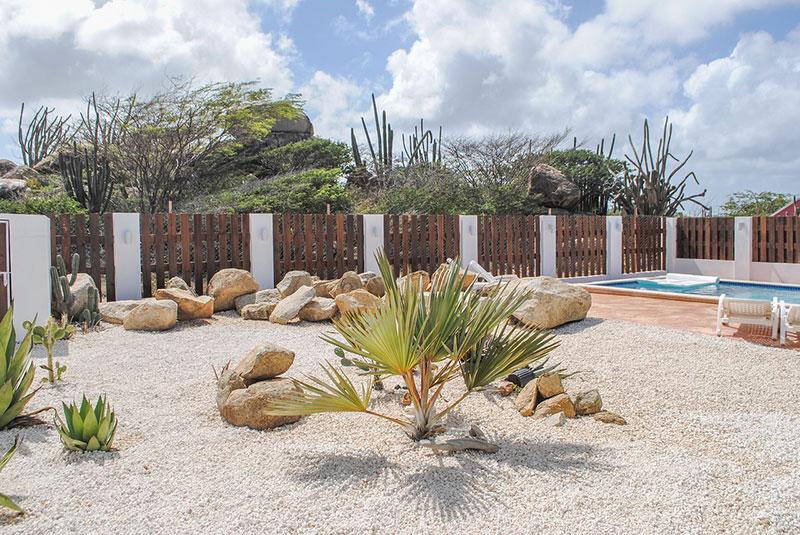 Vakantiehuis Aruba Villa La Granda - Tuin