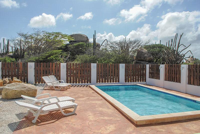 Vakantiehuis Aruba Villa La Granda - Zwembad